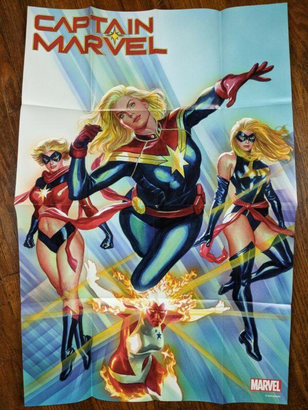 Captain Marvel - Marvel Comic Dealer Poster 2018 24x36 New