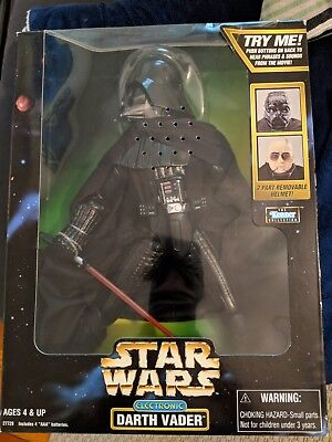 12' Electronic Darth Vader with Removable Helmet (1998 Kenner In-Box)