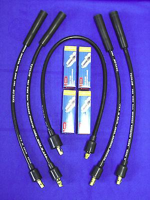 Lot Fits Lincoln Sa 200 250 Distributor Plug Wires Taylor Pro Denso Spark Plugs