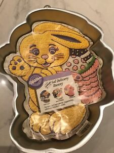 Special Delivery Bunny Cake Pan