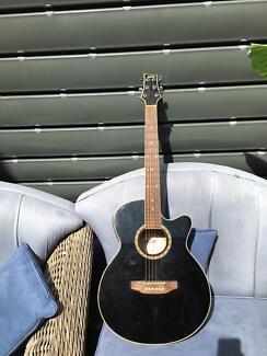 Ashton semi acoustic guitar