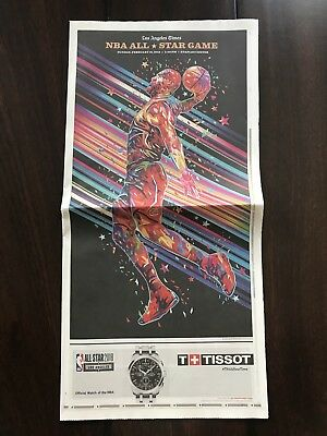 Los Angeles Times 2018 Nba All Star Game Special Section 2 18 18 La Times