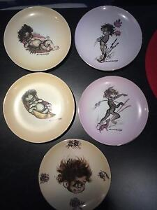 Brownie downing collectable plates Arundel Gold Coast City Preview