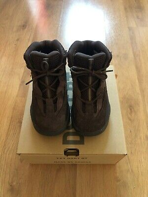 Adidas Yeezy Infant Oil Desert Boot UK 8.5 Excellent Condition