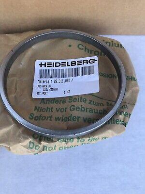 Original Heidelberg Cylinder Thrust Bearing Spacer Ring 28.011.020 From Germany