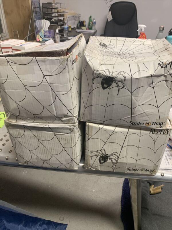 "*NEW* Alpha SP1310 Spider Wrap Anti-Theft Retail Security 102"" - 1 Case (25 pcs)"