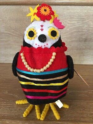 Target Halloween Bird Hyde and Eek Featherly Friends CANTANTE - Halloween Decorations 2017 Target