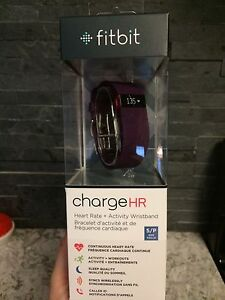 Montre fitbit charge HR