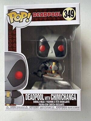 Funko Pop Marvel Deadpool with Chimichanga 349 7-Eleven (No Sticker)