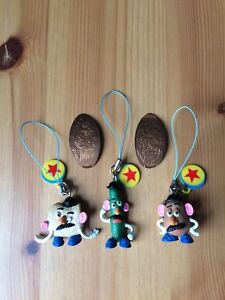 Toy Story keychains and coins