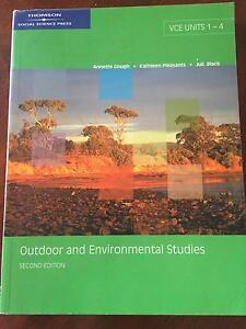 VCE Outdoor and Environment Studies textbook Albury Albury Area Preview