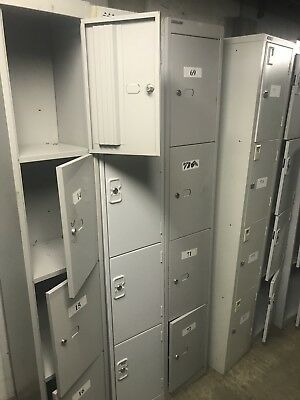 4 Door Locker Steel Metal Cabinet