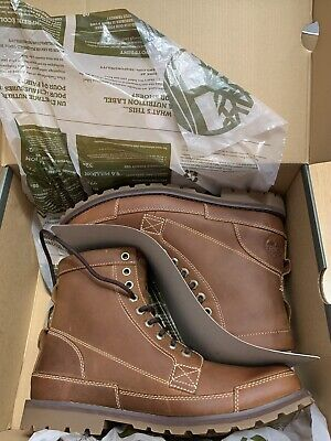 Men's Timberland Earthkeepers 6 inch Boots in size 9.5 Brown Nubuck New in Box