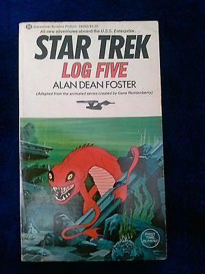 Star Trek Log Five 5 - Alan Dean foster (Sci Fi Paperback) Enterprise SHIPS 1ST