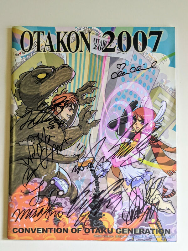 2007 Otakon Program Guide Book. Signed by AAA - Attack All Around!