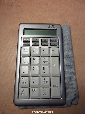Ergostars Saturnus Numberpad (or Numeric Keypad) USB Calculator INCL SOFT CASE