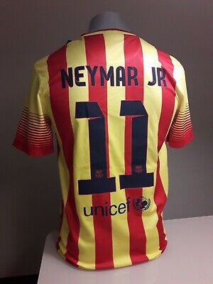 Original Camiseta fc barcelona neymar barça messi nike shirt maglia