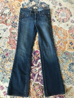 Paige Blue Straight Leg Jean Size 26 Benedict Canyon Inseam 31