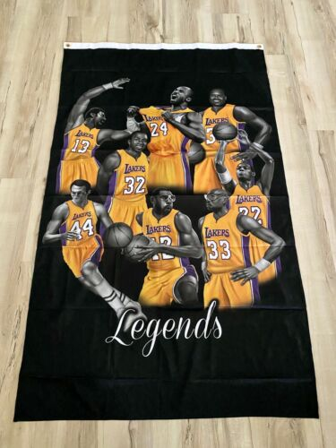 Lakers Legends 3ftx5ft flag banner limited edition Los Angeles black mamba new