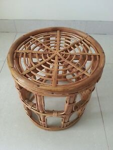 Handcrafted bamboo table Glendenning Blacktown Area Preview