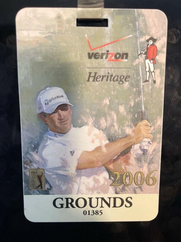 2006 Verizon Heritage Badge