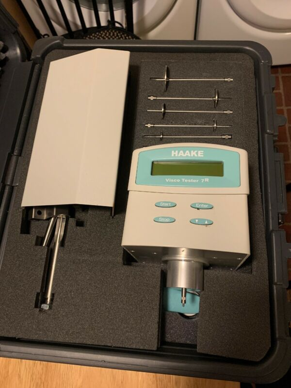 THERMO HAAKE VISCOTESTER 7R VISCOMETER With HARD CASE GOOD USED SHAPE! VT7-R