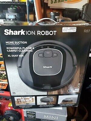 Shark ION Robot R75, Wi-Fi Connected Multi-Surface Deep Cleaning RV750 New 2020