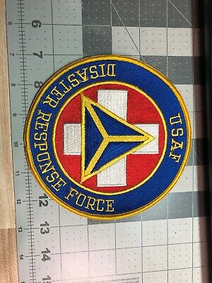 USAF Air Force Disaster Response Force Patch (130), used for sale  Yreka