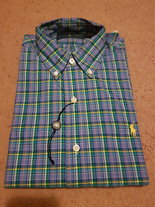 BRAND NEW AUTHENTIC Ralph Lauren Mens Collared Shirts Burwood Burwood Area Preview