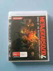 Metal Gear Solid 4 PS3 Gilmore Tuggeranong Preview