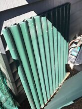 Roofing sheets corrugated x6 + flashing green colour Murarrie Brisbane South East Preview