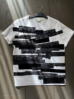 Junya Watanabe and Comme Des Garcons white Top/T-shirt, Made In Japan, Size S