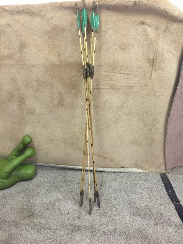 5 Five Atlatl Darts Spear Thrower Darts Woomera