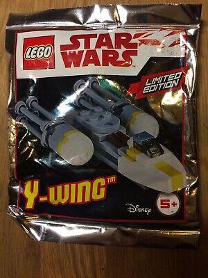 LEGO STAR WARS - Y-wing Starfighter - Ltd  Ed NEW Foil Polybag