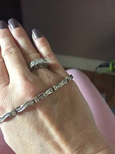 Bracelet diamant or