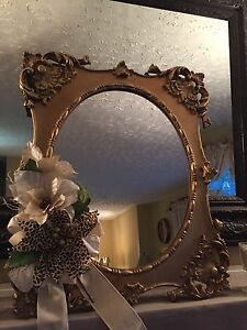 Vintage Mantle Mirror