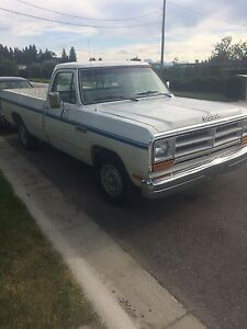 1987 dodge d150 reduced!! 1400$obo