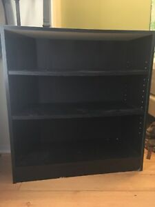 Bookshelf black