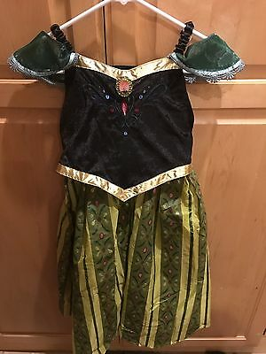 EEUC Disney Park Authentic Original Ana Frozen Costume Dress, Medium 7-8](Ana Frozen Costume)