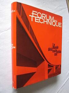 """FORUM de la TECHNIQUE LE MONDE DE LA ROUTE et du RAIL - France - Commentaires du vendeur : """"voir description"""" - France"""