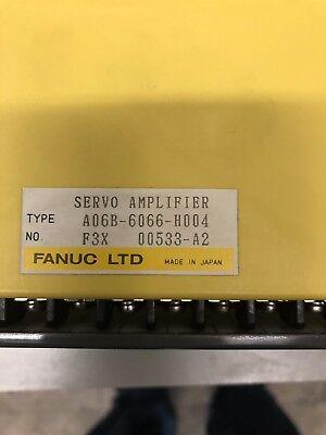 Used Fanuc A06b-6066-h004 Ac Servo Amplifier Star Cutter Cnc Grinder