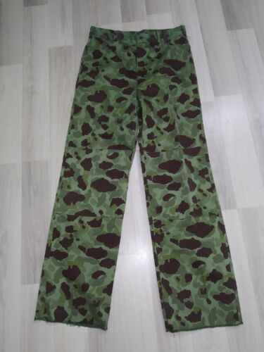 "COLOMBIAN 1980 ""TIGRILLO"" SPOT CAMO COMBAT PANTS Duck Hunter pattern camouflage"