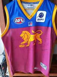 Autographed brisbane lions premiership jumper Deakin South Canberra Preview
