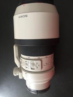 Sony 70-200 Telephoto lens F4 . G OSS Full Frame