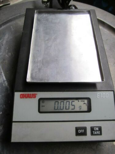 OHAUS SCALE
