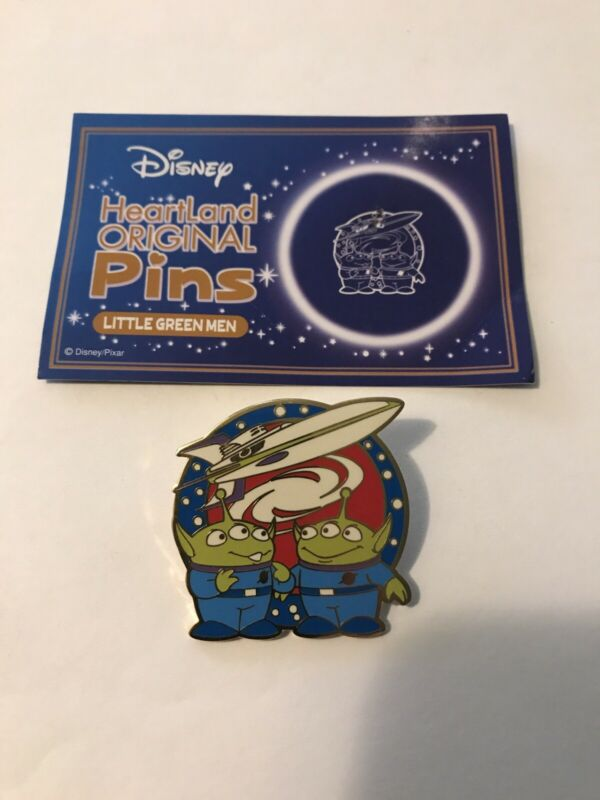 Disney Toy Story Little Green Men Aliens Heartland Original Pins