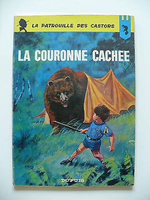 EO 1965 (bel état) - La patrouille des Castors 13 (la couronne cachée) Mitacq