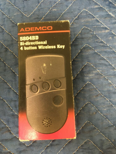 NEW - Honeywell/ADEMCO 5804BD Bi-Directional 4-Button Wireless Key