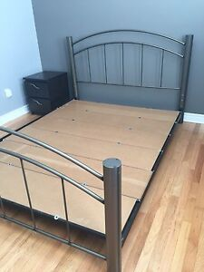 Queen bed frame for sale $80