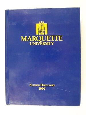 Marquette University Alumni Directory 1997 Marquette University Alumni